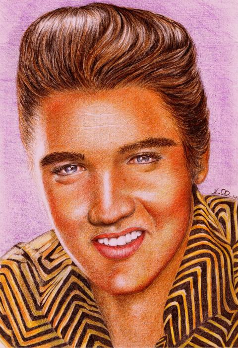 Elvis Presley by Ragazza